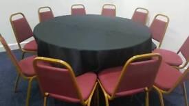 banquting chair & table