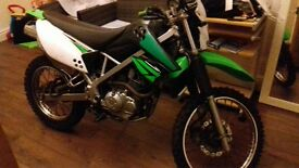 2011 kawasaki klx 125 road leagel