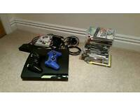 Sony Ps3 Ps 3 Slim 320gb + games 2 contollers camera play tv