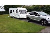 Compass corona 4 berth fixed bed with motor mover