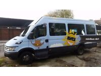 Iveco daily 17 seats minibus diesel 1 owner from new