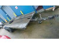 18ft Heavy duty tilt bed car transporter trailer