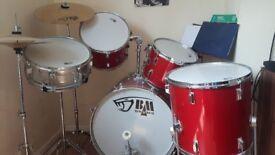 Black mamba drumkit