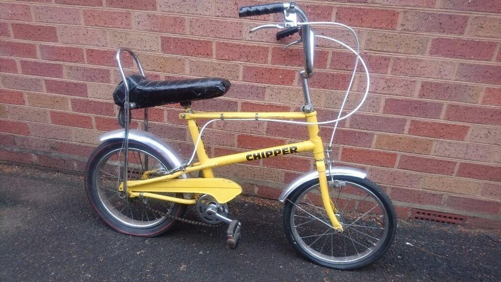 Vintage 1970s Original Raleigh Chipper Bicycle Looks