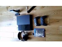 PS4 2 x Controllers, Turtle Beach headset, motion sensor camera, Fallout 4
