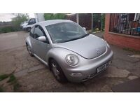 vw beetle, 2ltr petrol, tested ready to get in and go only £395