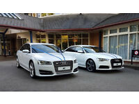 Midland Chauffeurs Car Hire for Weddings, Reception, Airport Transfer, Audi, Mercedes, Bentley