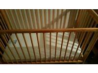 Cot for up to 18 months