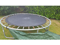 8ft Trampoline, free but please see ad...