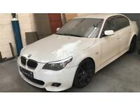 BMW 530D M SPORT FULLY LOADED SPIDER ALLOYS PX PLZ READ ADD