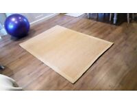 John Lewis Savannah rug carpet Natural as NEW in a perfect condition