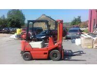 forklift truck 1.5 ton on gas