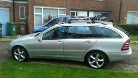Mercedes C-Class estate. Collection within 2 days. London drop off considered. Cash only.