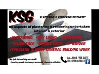 KSG plastering & rendering