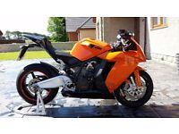 KTM RC8 Very Good Condition & Low Mileage