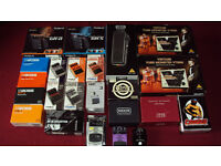 For sale. Guitar effects pedals, Distortion, overdrive, noise gate, chorus, wah, compression.