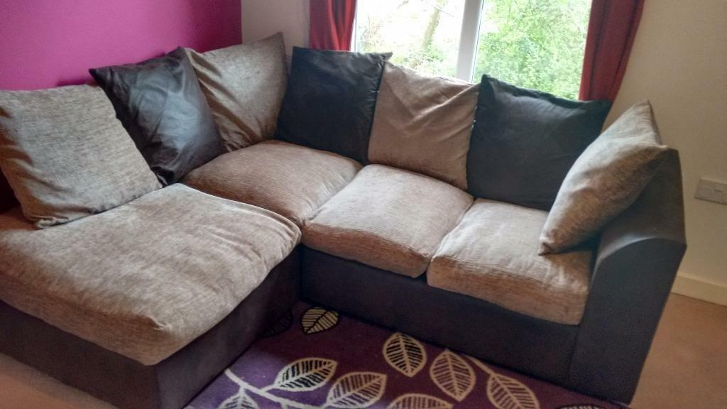 Scatter Cushion Corner Sofa In Sidmouth Devon Gumtree