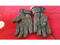 Motorcycle winter gloves