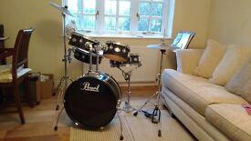 Pearl Rhythm Traveler drum kit
