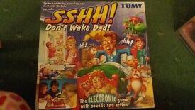 SSHH, Don't wake dad!