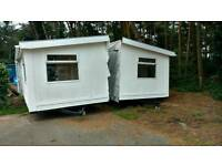 20 x 20ft mobile home / static home