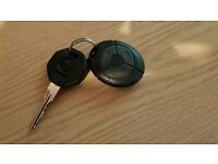 Mg zr rover key fob remote alarm button and key