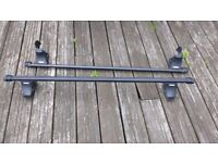 Thule Rapid System Bars with Feet & Attachment Points for Fiat Punto Mk II