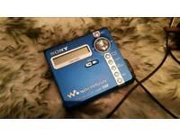 Sony MZ-N707 minidisc player