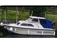 BOAT WITH MOORING FOR SALE £7.995.00
