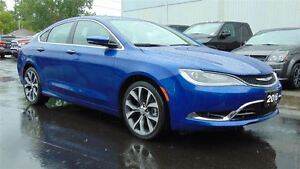 2016 Chrysler 200 C - NAV - LEATHER - PANOROOF - 13,789 KMS