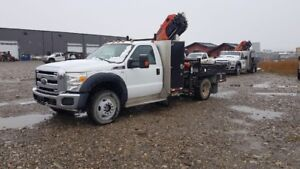 2011 Ford F550 with 8501 Palfinger Picker