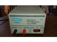 13.8V DC Regulated Power Supply