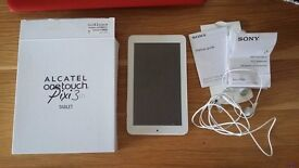 Alcatel one touch pixi 3 tablet