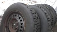 Winter tire and rims