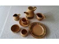 DINNER/TEA SET, 36PCE, STAFFORDSHIRE IRONSTONE, BACCHUS design, by KILN CRAFT excellent condition,