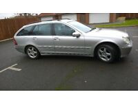 Mercedes Benz C200 Avant Automatic, full service history £998