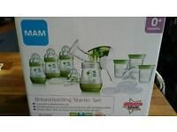 MAM manual breast pump set