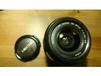 Minolta Lens A Auto Focus 35-80mm 4-5.6 Sony Alpha a7 5000 6000 hood caps