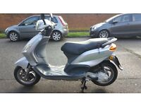 piaggio fly 50 2008 one owner in excelent condition