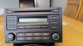 Vw t5 stereo / cd player 2007