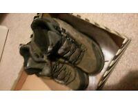 as new girls- woman trespass grey kilcott sprots shoe size 6
