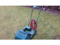Qualcast Punch Classic 30 Electric Lawnmower in superb condition