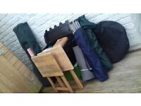 Bargain - Camping Equipment - Gazebo, Chairs, Tables, BBQ, Stove and much more