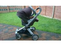 Chicco pushchair 3 in 1