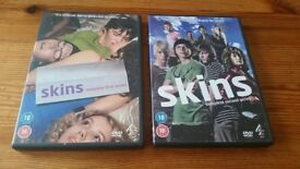 SKINS complete first and second series DVDS