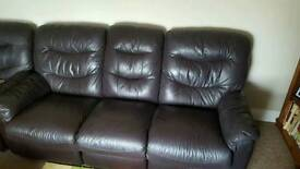 3+1+1 leather suite