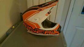 Brand new still in box O'Neil motorcross helmet in adult large