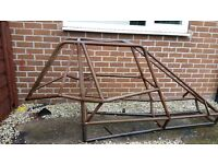 Buggy off road metal roll cage