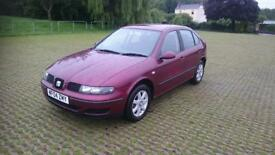 SEAT LEON 1.6 S 5dr (red) 2004