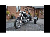Harley Davidson HD DYNA Super Glide Trike 2007 with extras MINT